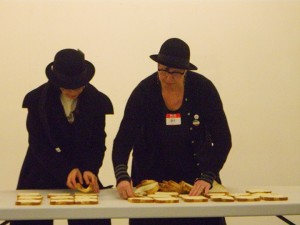 Memorama, bpm and Melissa McCarthy at Mana Fine Arts (photo Adamandia Kapsalis) 2.2014